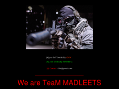 Thumbnail of defaced domain.tc