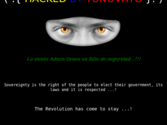 Thumbnail of defaced www.policianacional.gov.py