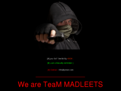 Thumbnail of defaced ahost.uz