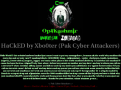 Thumbnail of defaced www.hebergement.us