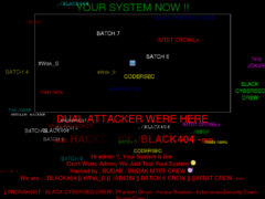 Thumbnail of defaced www.ofc.hr
