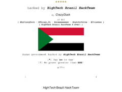 Thumbnail of defaced www.sudan.gov.sd