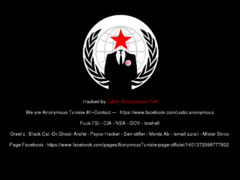 Thumbnail of defaced www.infoselect.com.tn