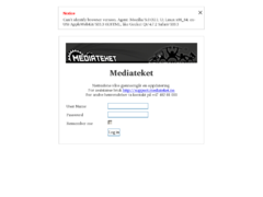 Thumbnail of defaced www.mediateket.no
