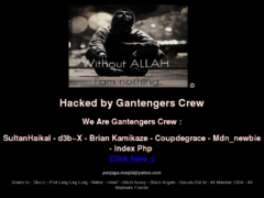 Thumbnail of defaced extremecomputingtraining.anl.gov