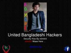 Thumbnail of defaced www.wordslingersok.com