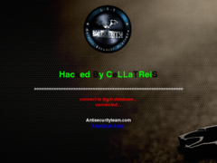Thumbnail of defaced www.mzwakali.co.za