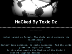 Thumbnail of defaced omicsonline.org