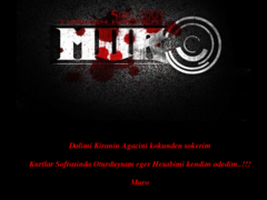 Thumbnail of defaced www.parliament.gov.zm