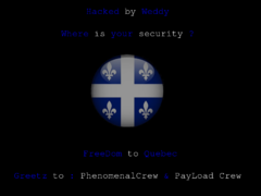 Thumbnail of defaced csbe.tv