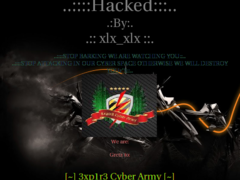 Thumbnail of defaced www.mining.com.mm