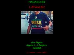 Thumbnail of defaced www.deravet.be