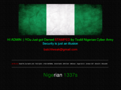 Thumbnail of defaced fctedusec.gov.ng